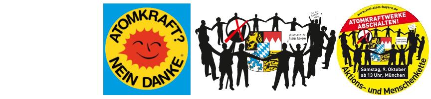 Anti Atom Bayern (AAB) Logo